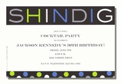 Product Image For Shindig Invitation