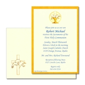 Product Image For Chalice & Doves invitation