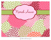 Product Image For Pink Mums Note card