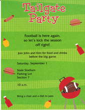 Product Image For Tailgate Party Designer Paper