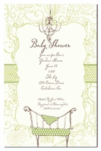 Product Image For Polka Dot Cot Invitation