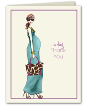Product Image For Fashionable Mom - Note Card