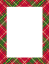 Product Image For Country Plaid Letterhead