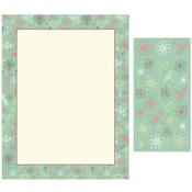 Product Image For Girls and Flowers Letterhead & Seals