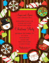 Product Image For Christmas Goodies Laser Paper