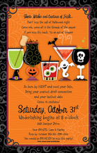 Product Image For Spooky Spirits Digital Invitation