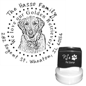 Product Image For Personalized Pet Ink Stamps Design 3