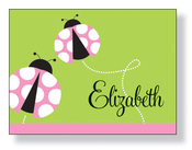 Product Image For Ladybug Lawn Note Card