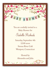 Product Image For Baby Bird Invitation