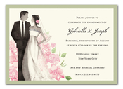 Product Image For Beautiful Couple Invitation