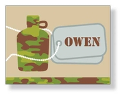 Product Image For Camo Canteen Notecard