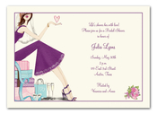 Product Image For Chic Bride Invitation