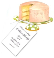 Product Image For Pink Cake on Plate Stand
