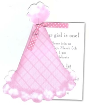 Product Image For Pink Plaid Party Hat