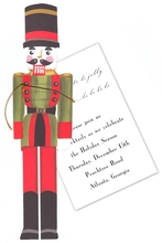 Product Image For Nutcracker in Red & Green Jacket Die-Cut