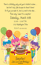 Product Image For Birthday Kids Digital Invitation