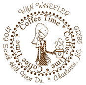 Product Image For Coffee Time Stamp