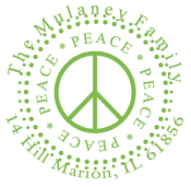 Product Image For Peace Stamp