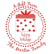 Product Image For Happy Holidays Stamp