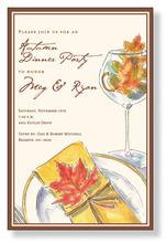 Product Image For Leaves Placesetting