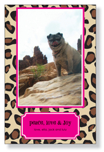 Product Image For Leopard Lipstick Photo Card