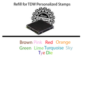 Product Image For TDW Personalized Stamp Ink Refill