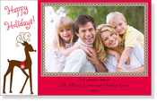 Product Image For Regal Reindeer Digital Photo Card