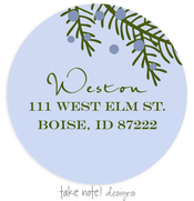 Product Image For Juniper Berry Branch Address Label