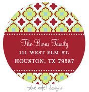 Product Image For Holiday Delight Address Label