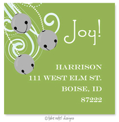 Product Image For Silver Bells Address Label