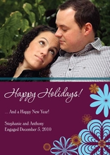 Product Image For Mod Holiday Photo Card