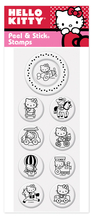 Product Image For Hello Kitty 4 Peel N Stick Pack