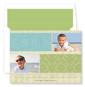 Product Image For Beach Holiday Flat Photo Card