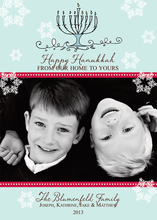 Product Image For Hanukkah Digital Photo Card