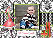 Product Image For Bella Claus Digital Photo Card
