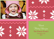 Product Image For Snow Bunny Digital Photo Card