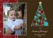Product Image For O Holiday Tree Photo Card
