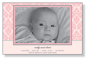 Product Image For Chenille Pink Photo Card