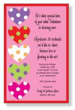 Product Image For Heart Stack Invitation