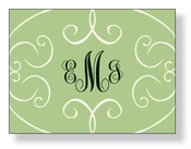 Product Image For Wisp Sage Thank You Card