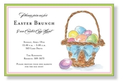 Product Image For Spring Basket Invitation
