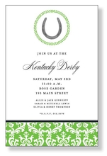 Product Image For Derby Luck Invitation