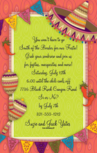 Product Image For Mexican Party Digital Invitation