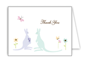 Product Image For Kangaroos Notecard