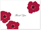 Product Image For Red Poppies Notecard