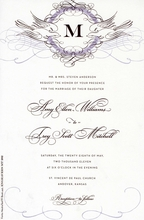 Product Image For Dove Flourish Invitation