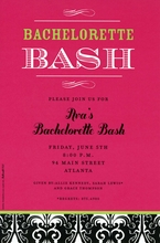 Product Image For Last Bash Invitation