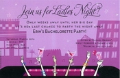 Product Image For Ladies Night Invitation