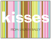 Product Image For Kisses Note Card