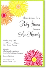 Product Image For Wildflowers Invitation
